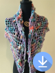 Bellbird Creek Designs - Glossodia Shawl